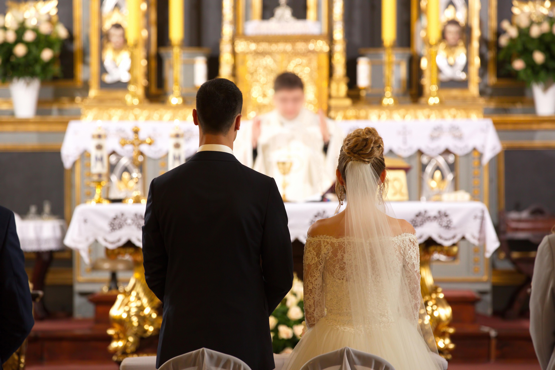 Церковный брак в Италии