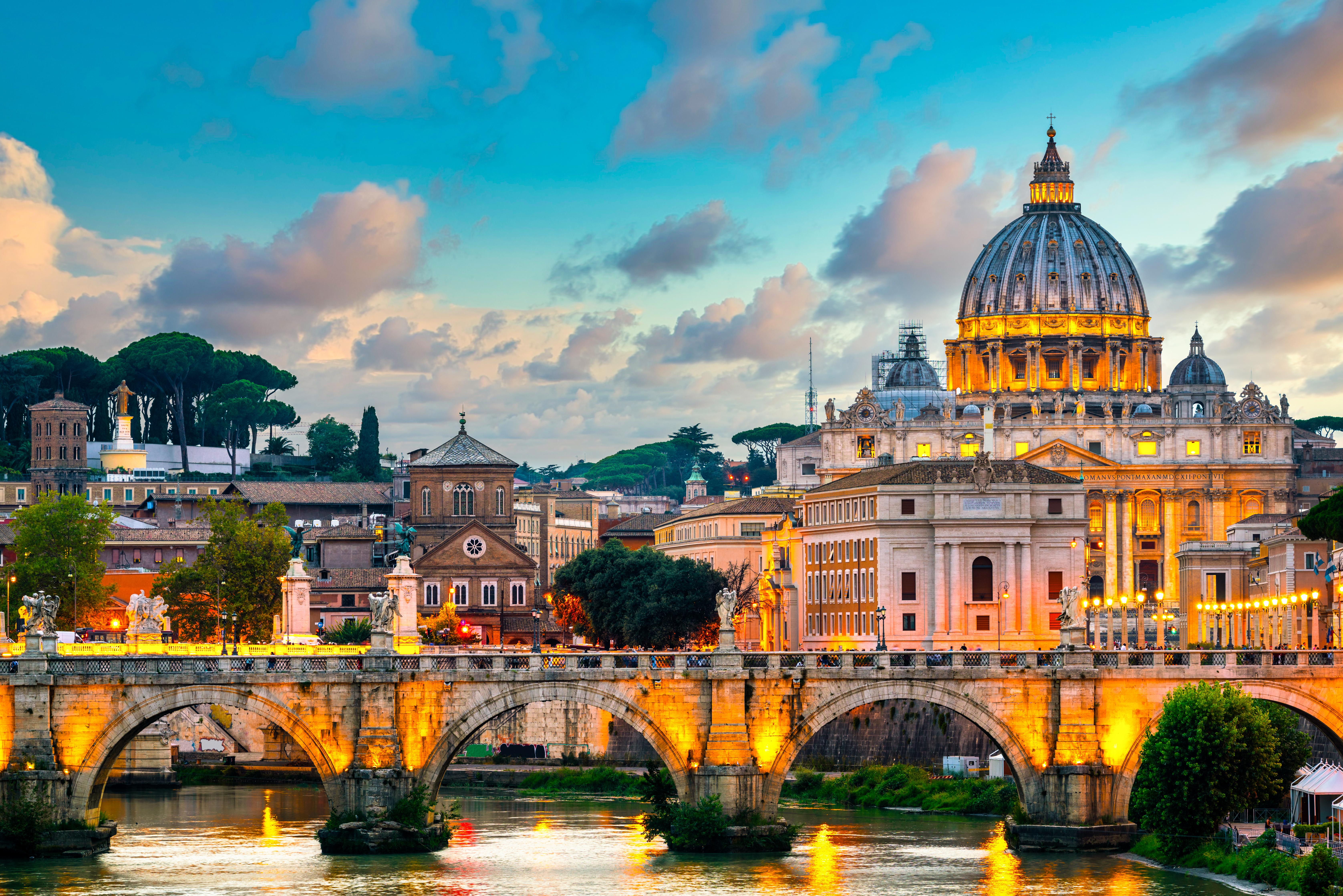 Собор Святого Петра в Риме, столице Италии, ВНЖ которой могут получить иностранцы
