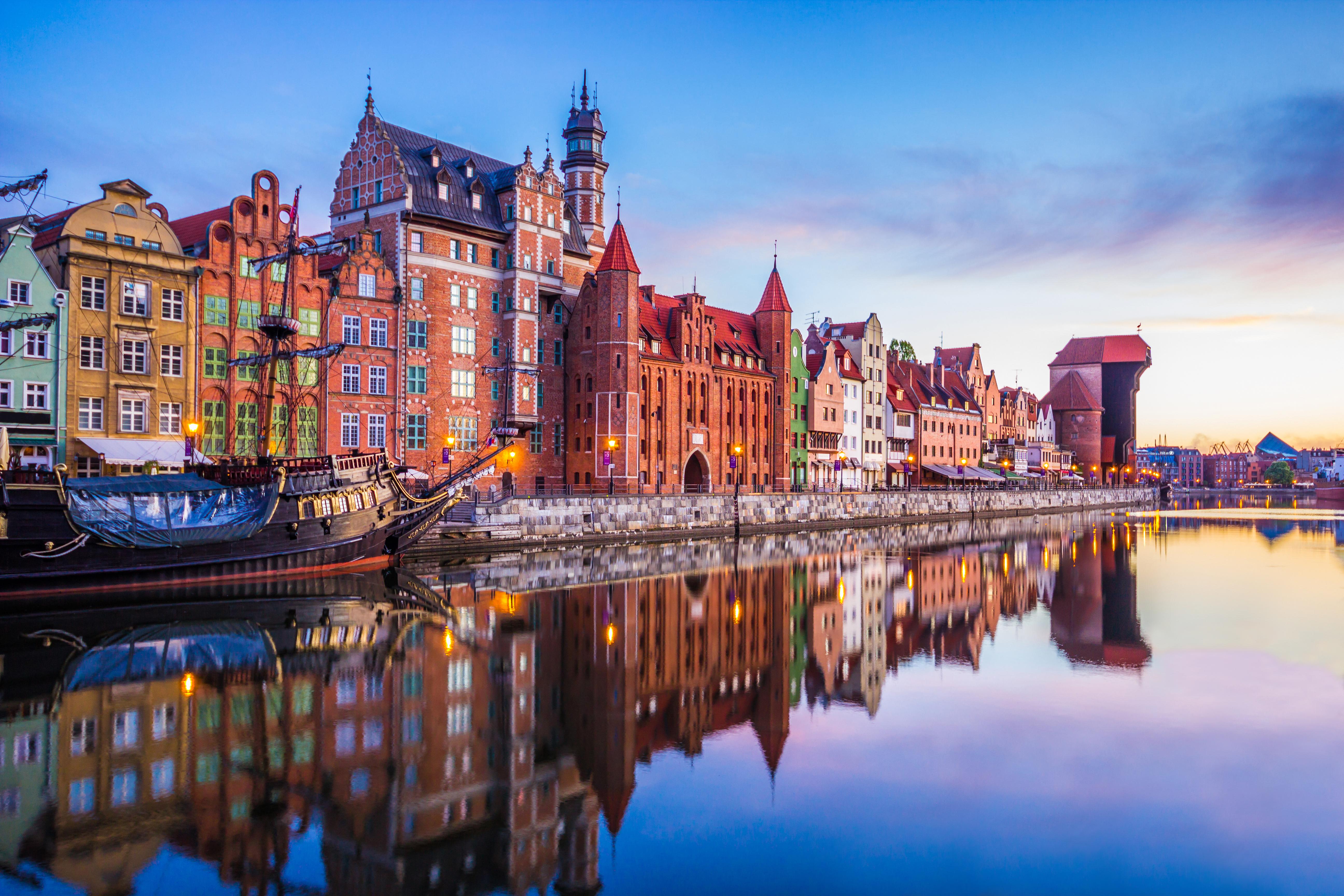 Гданьск, город в Польше, ВНЖ которой могут получить иностранцы
