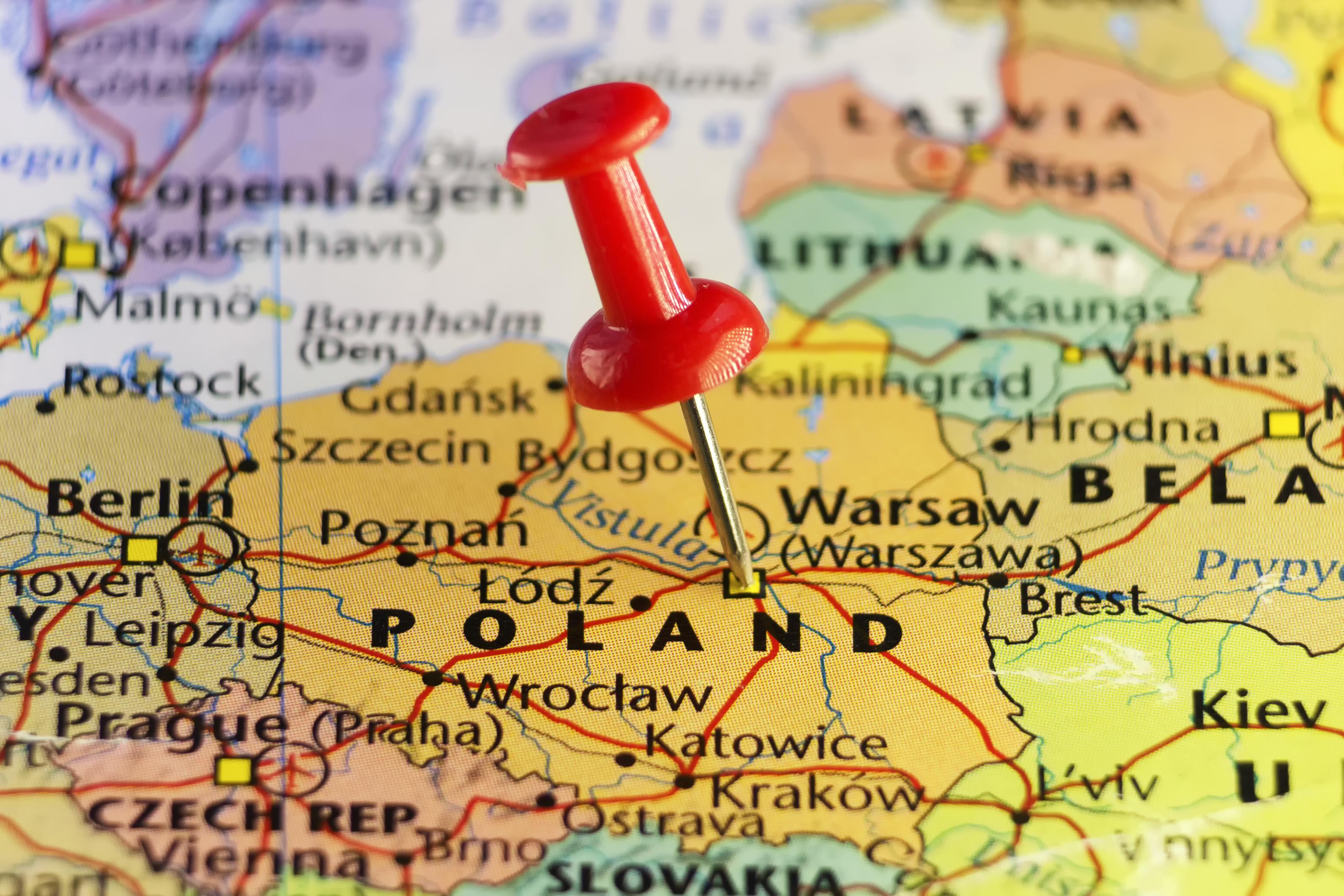 Карта Польши, ПМЖ которой могут получить иностранные граждане
